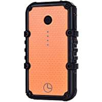Luxtude 13400mAh Outdoor Portable Charger, IP67 Waterproof Dustproof Shockproof Rechargeable External Battery, Dual USB Ports Max 2.4A Quick Charge Power Bank For iPhone, Android, More USB Devices