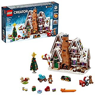 LEGO Creator Expert Gingerbread House 10267 Building Kit, New 2020 (1,477 Pieces)