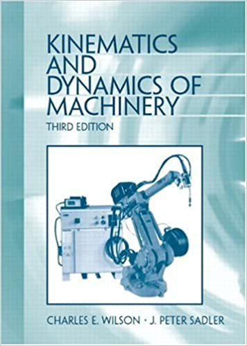 kinematics dynamics of machinery 3rd edition solution