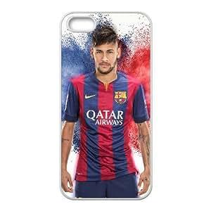 iphone5 5s White Neymar phone cases&Holiday Gift