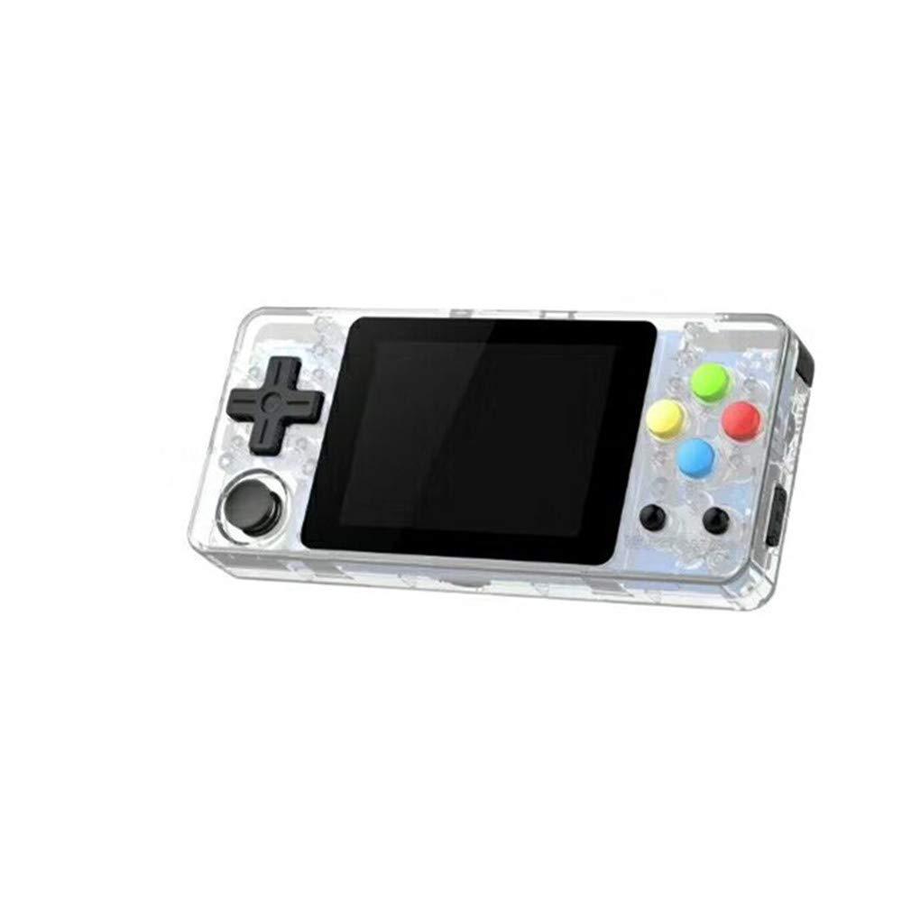 Blanco unbrand Xiaolongwang LDK de 2,6 Pulgadas versi/ón Horizontal de Segunda generaci/ón de Sistema de c/ódigo Abierto Arcade LCD Consola de Juegos port/átil