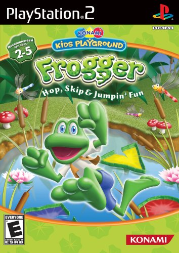 Amazon.com: Konami Kids Playground: Frogger Hop, Skip ...
