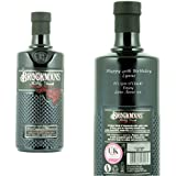 Personalised Brockmans Gin 70cl Engraved Gift Bottle