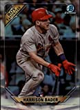#2: 2018 Bowman Chrome Refractor ROY Favorites #ROYF-HB Harrison Bader St. Louis Cardinals Rookie of Year RC Baseball Card