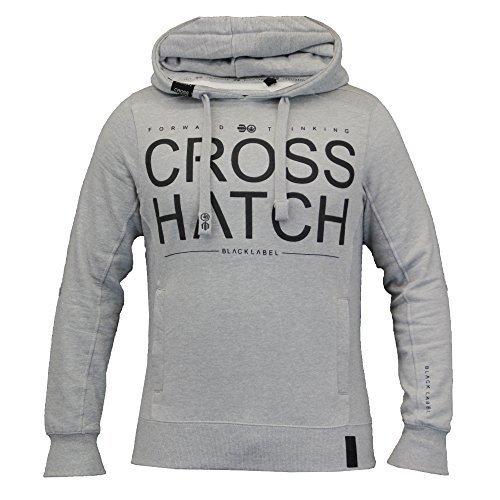 Mens Sweatshirt Crosshatch Sevcon Grey Uk Medium Us Small
