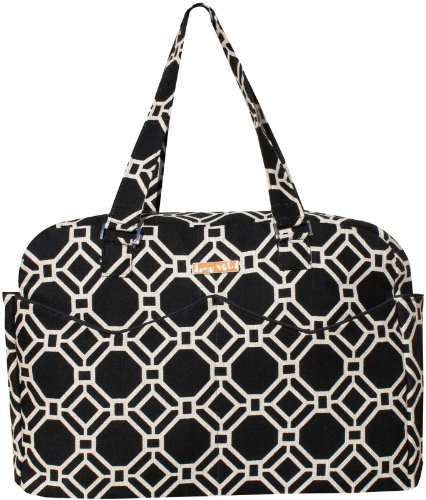 foxy-vida-lattice-satchel-diaper-bag-black-by-foxy-vida