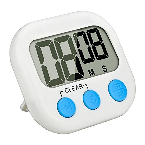 Home Kitchen Timer, Digital Countdown Timer With Large LC...