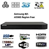 Samsung BD-J5900 Upgraded Wi-Fi Multi Region Zone Free Blu Ray DVD Player