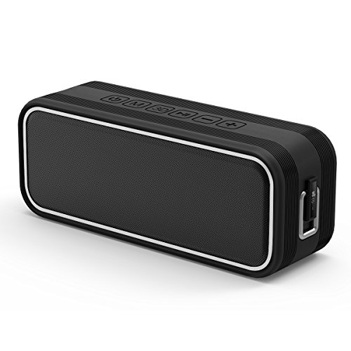 40W Portable Bluetooth Speaker,EC Technology HIFI Dual-Driver Wireless Speaker with IPX7 Waterproof, 13-Hour Playtime Stereo Pairing & Deep Bass for Outdoor,Home,Travel,Hiking,Camping,Beach-Black
