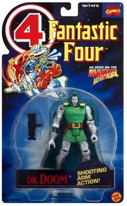 Fantastic 4 Animated Series Dr. Doom by Toy Biz: Amazon.es: Juguetes y juegos