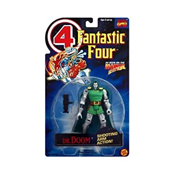 Fantastic 4 Animated Series Dr. Doom by Toy Biz: Amazon.es ...