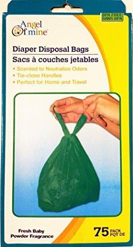 Diaper Disposal Bags (Diaper Disposal Bags, Fragrance Fresh 75 Bags, BPA Free)