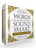 img - for Words You Should Know to Sound Smart 2019 Daily Calendar book / textbook / text book
