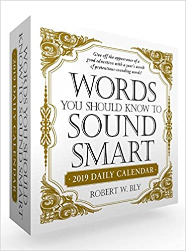 Amazon Words You Should Know To Sound Smart 2019 Daily Calendar