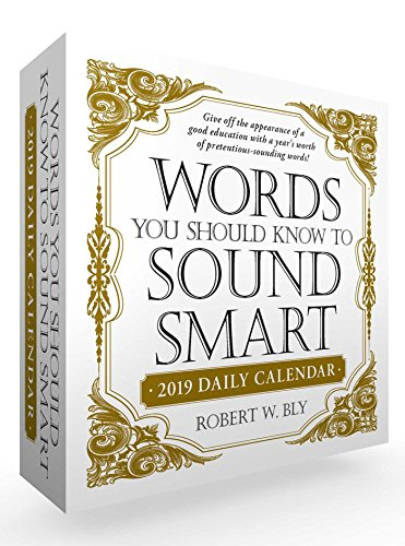Words You Should Know to Sound Smart 2019 Daily Calendar by Simon & Schuster