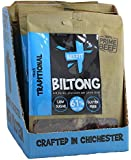 Beefit Biltong - Beef Jerky - Traditional Flavour. High Protein, Low Sugar Healthy Snack. Perfect Gym Snack and Beer Snack Beef Biltong. 10 x 35g (Original)