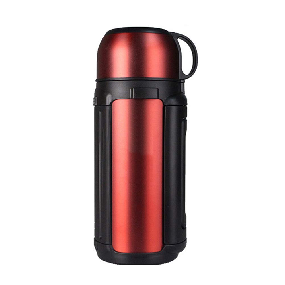 Sportflasche Isolier Becher Thermo Becher Travel Mug Kaffeebecher Wasserflasche Trinkbehälter Trinkflaschen-Stilvolles Outdoor-Sportgerät Für Unterwegs Mit Hoher Kapazität JINRONG