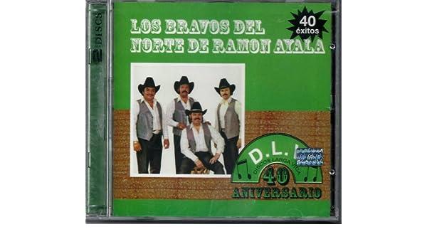 Los Bravos Del Norte De Ramon Ayala 2cds 40 Exitos - Los ...