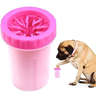 Paw Legend Portable Dog Paw Washer - Pet Paw Cleaner for Dogs,Cats Grooming with Muddy Paws - Comfortable Silicone Dog Feet Cleaner from Paw Legend