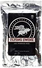 This is the Official 2018 National Barbecue and Grilling Association First Place Pork Rub. With our Flying Swine All-Purpose Rub, you get a lot of advantages. For starters, our Award Winning rub does not require adding sugar to an over salty ...