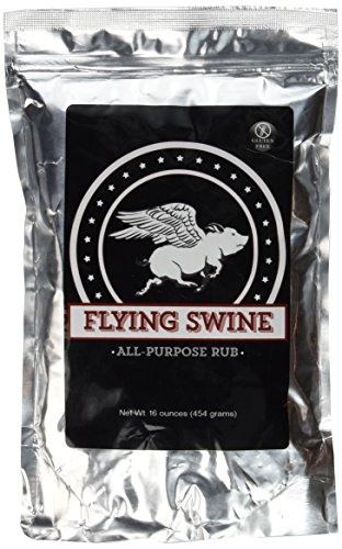 Smoked Ribs (Flying Swine All-Purpose BBQ Rub - For use on baby back ribs, pulled pork, smoked brisket, pork chops, chicken, salmon, vegetables and anything you put on the smoker or barbecue!)