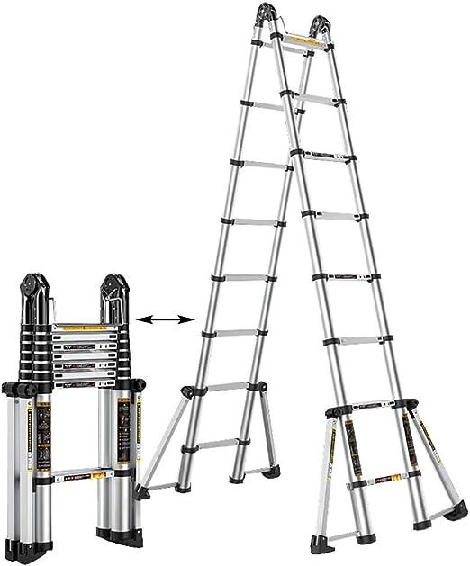 Erru Escalera Telescópica- Escalera Telescópica De 5M 16.4FT ...
