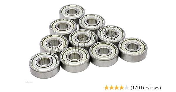 Bearings 608ZZ 8x22 mm 608Z Metric Greased 608 Ball Bearing Sale Lot of 100 pcs
