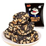 Black Sesame Crisp Individually Packed Crunchy Cluster Made With All Natural Ingredients, Vegan and Gluten Free, 7 oz/188 g