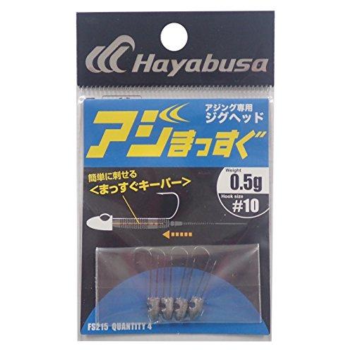 ハヤブサ(Hayabusa) アジング専用ジグヘッド アジまっすぐ FS215 #10-0.5gの商品画像