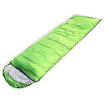 JER - Saco de Dormir con Bolsas de compresión, Color Verde: Amazon.es: Deportes y aire libre