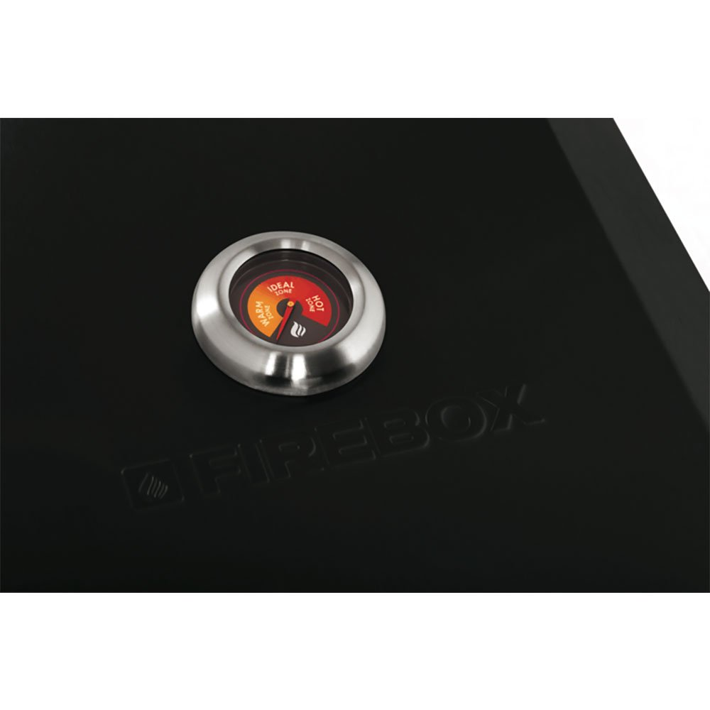 Bull Outdoor Products Portable Durable Fire Box BBQ Pizza Oven, Black Enamel by Flamebox (Image #3)