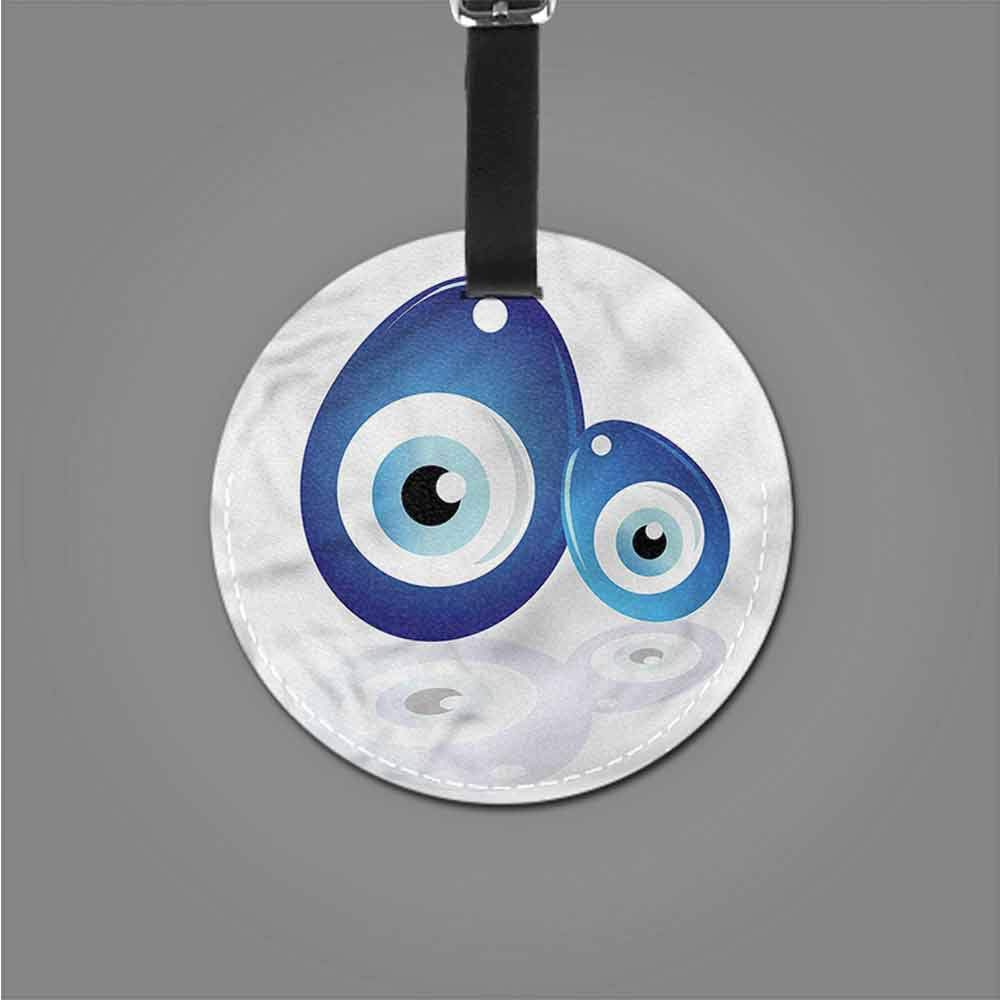 New Suitcase Luggage Tags Evil Eye,Hand of Fatima Lotus Name Tags