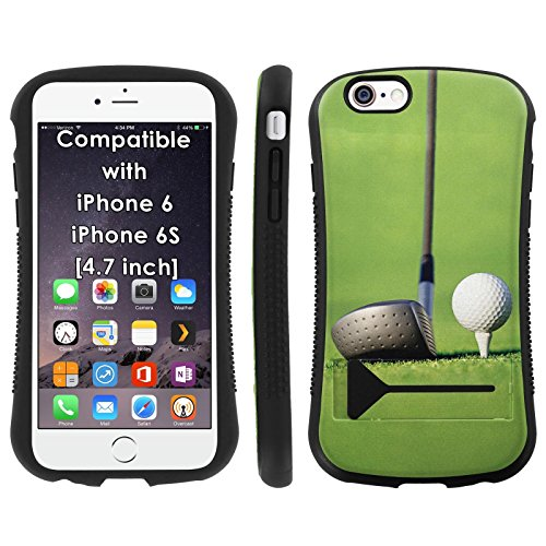 Mobiflare Armor Hybrid Grip Phone Cover for [iPhone 6/6s] - Golf Drive