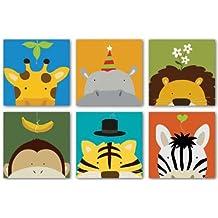 Lot of 6 Yuko Lau Peek-A-Boo VII-XII Art Prints Posters Set
