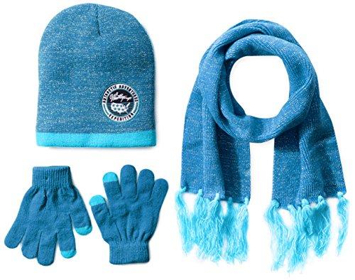 Weatherproof Girls Lurex Beanie Gloves
