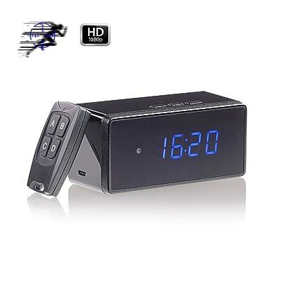 Reloj con cámara oculta, Mofek 16 GB, 1080P HD, cámara espía, detector