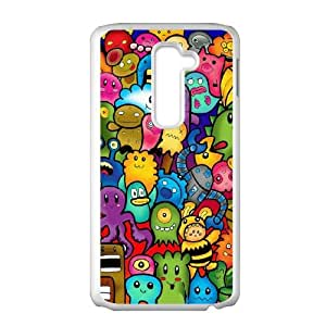 LG G2 Cell Phone Case White Cute Monsters A8H9LE