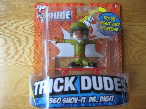 (Tech Deck Dude Trick Dudes 360 Shov-It Dr. Digit)