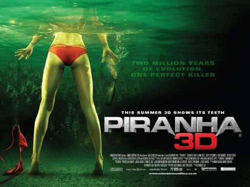 - Piranha 3-D Poster Movie UK 27 x 40 Inches - 69cm x 102cm Fyodor Bondarchuk Ekaterina Vilkova Yuriy Kutsenko Aleksey Serebryakov Artyom Mikhalkov Aleksey Gorbunov Pyotr Fyodorov