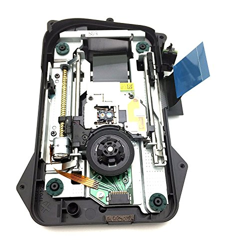 Slim Dvd Ps3 (Sony PS3 CECH-4001A / CECH-4001B Super Slim New Replacement Blue-Ray DVD Drive Deck KEM-850 PHA with Laser Lens and flex cable in Shell)