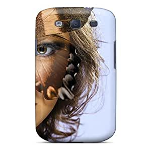 For Galaxy S3 Premium Tpu Case Cover Lovely Butterfly Art Protective Case