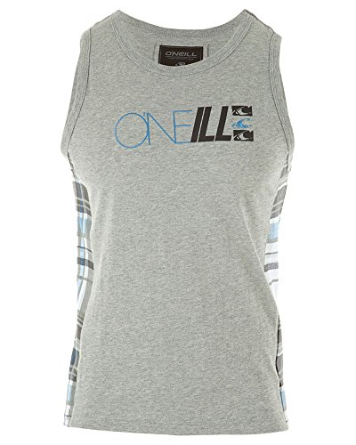 (Oneill Big Boys' Courtside Knit Tank, Heather Gray,)