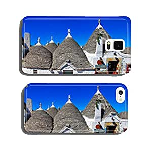 unique trulli houses in tree beautiful, Puglia, Italy cell phone cover case Samsung S5