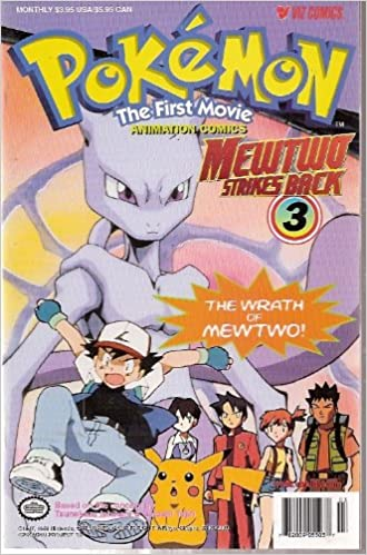 Pokemon The First Movie Mewtwo Strikes Back Number 3 The Wrath Of