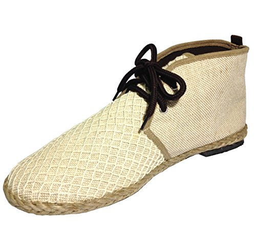 Siam-Smile-Womens-Sackcloth-Boots-General-Wear-Made-From-Natural-Materials-Natural-Fibers