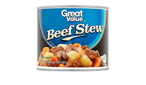 Amazon com : Great Value Canned Beef Stew, 8 Pack : Grocery