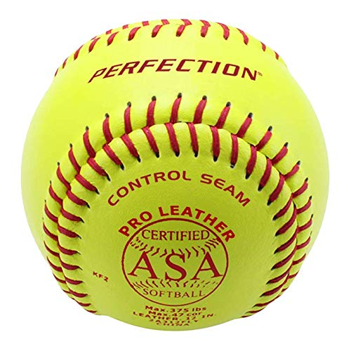 Baden ASA Leather Fastpitch Softballs (12-inch)