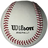 Wilson A1074 Little League Series Baseball (12-Pack), White