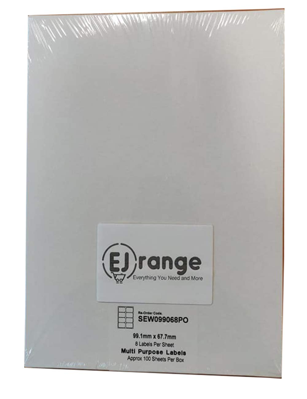 24 Labels, 500 Sheets EJrange Adressetiketten