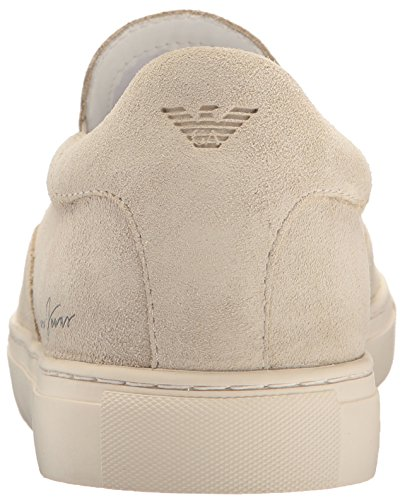 ARMANI JEANS Man Sneaker Shoes Beige OR Blue Suede Code 935067 Biege w5Lcqy